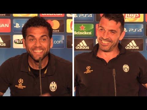 Dani Alves & Gianluigi Buffon Press Conference - Juventus v Real Madrid - Champions League Final