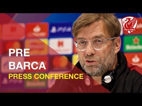 Liverpool vs. Barcelona | Jurgen Klopp Press Conference