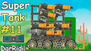 Танк из одних пулеметов Супер танк игра Super Tank Rumble #11