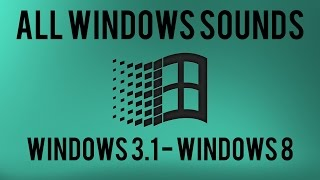 All Windows Sounds