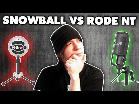 Blue Snowball Vs. Rode NT USB - Microphone Comparison Test!