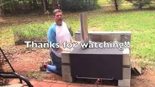How to Build a Diamond Plate Grill Hood, Part three