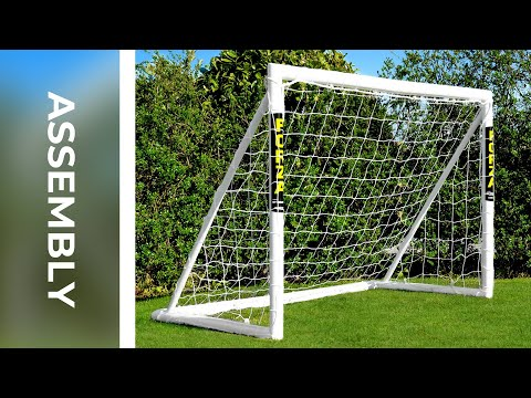 How To: Assemble The 6 X 4 FORZA Locking Football Goal | Net World Sports