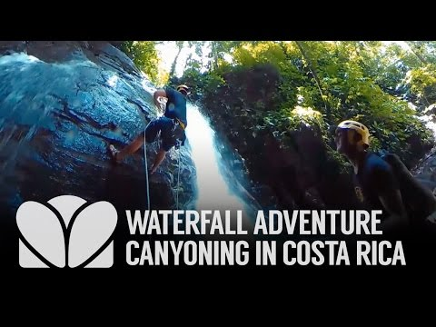 360 | Waterfall Adventure Canyoning in Costa Rica