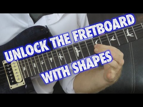 UNLOCK the Fretboard with Shapes