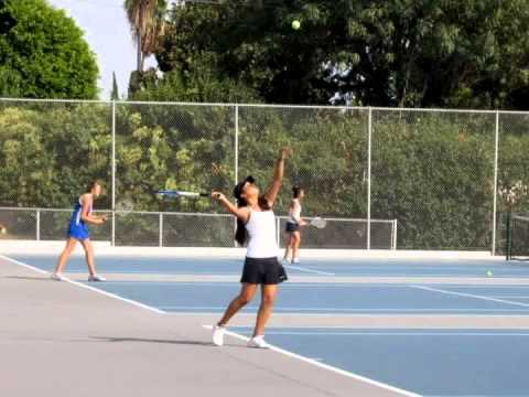 Rancho Cucamonga High School Girls Tennis Team 2013