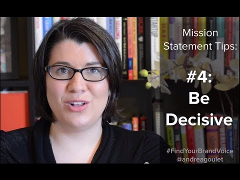 6 Tips For Creating A Mission Statement That Actually Works