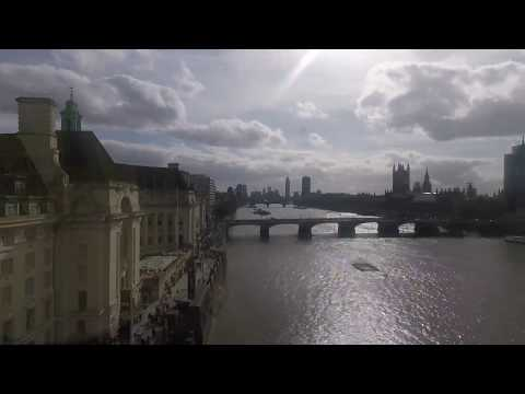 Coca Cola London Eye and Emirates Air Line Time Lapse Video