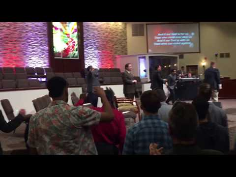 "POWERFUL! Apostolic Worship –  Men – Very Anointed! – ""Our God"" – Chris Tomlin – Must See !"