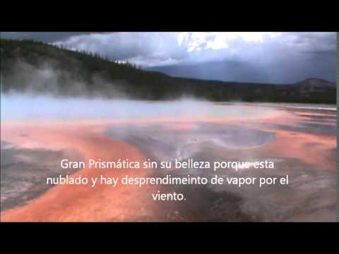 Midway Geyser o Grand Prismatic Spring Gran Fuente Prismática de Yellowstone