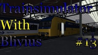 LET´S PLAY Train Simulator 2014 (Dutch) - Episode 13 | Midden Nederland | DDZ | Arnhem - Utrecht