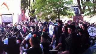 Irish Pipe Bands at Old St. Patrick