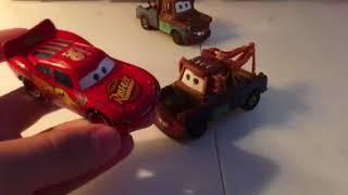 Disney Pixar cars Thailand Mater comparison