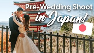Our Pre-wedding Shoot in Japan! ????