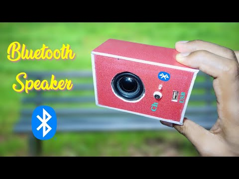 How To Make Bluetooth Speaker At Homemade , ब्लूटूथ स्पीकर कैसे बनाएं घर पर, Ashish Experiment