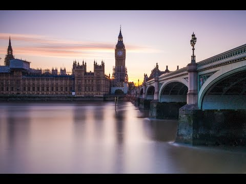 Photographing Sunset in Westminster, London