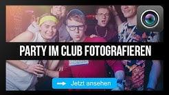 Wie du die besten Partyfotos machst