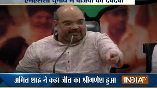 After Bihar Poll Win, Amit Shah Says Janata Parivar A Damp Squib | India Tv