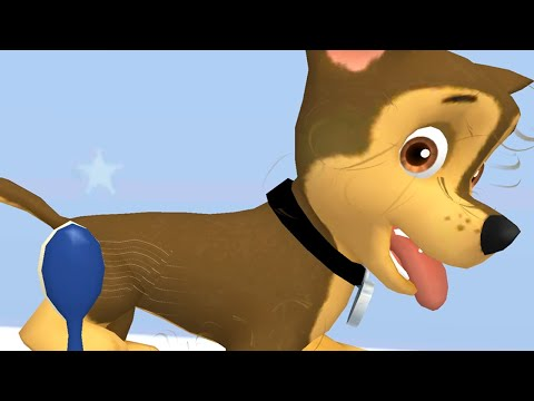 Paw Patrol A Day In Adventure Bay - Chase Love Clean Up + Daily Mission - Fun Pet Kids Games