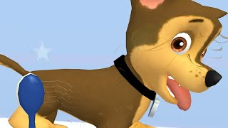 Paw Patrol A Day in Adventure Bay  Chase Love Clean Up + Daily Mission  Fun Pet Kids Games