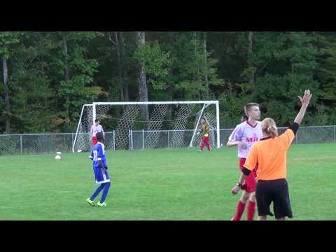 Merrimack Freshman Boys vs Mount Royal Academy 9-25-15