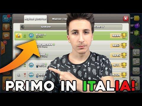 SONO PRIMO in ITALIA! Top Mondiale? Vi sfido! | Clash of Clans ITA