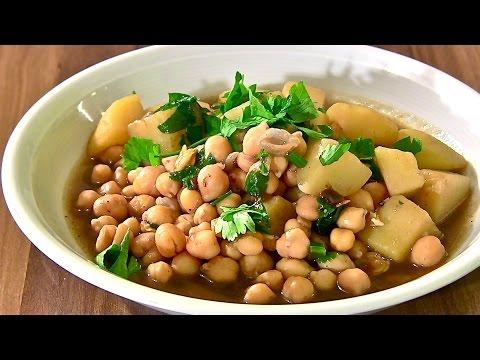 kichererbsen-kichererbsen-suppe-kichererbsen-suppe-mit-kartoffeln-vegetarisch-kochen-suppe-asiatisch