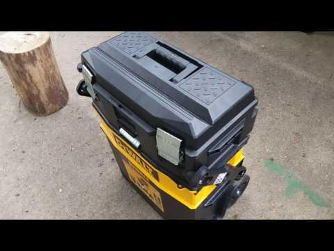 Dewalt multilevel portable tool box review. Works great