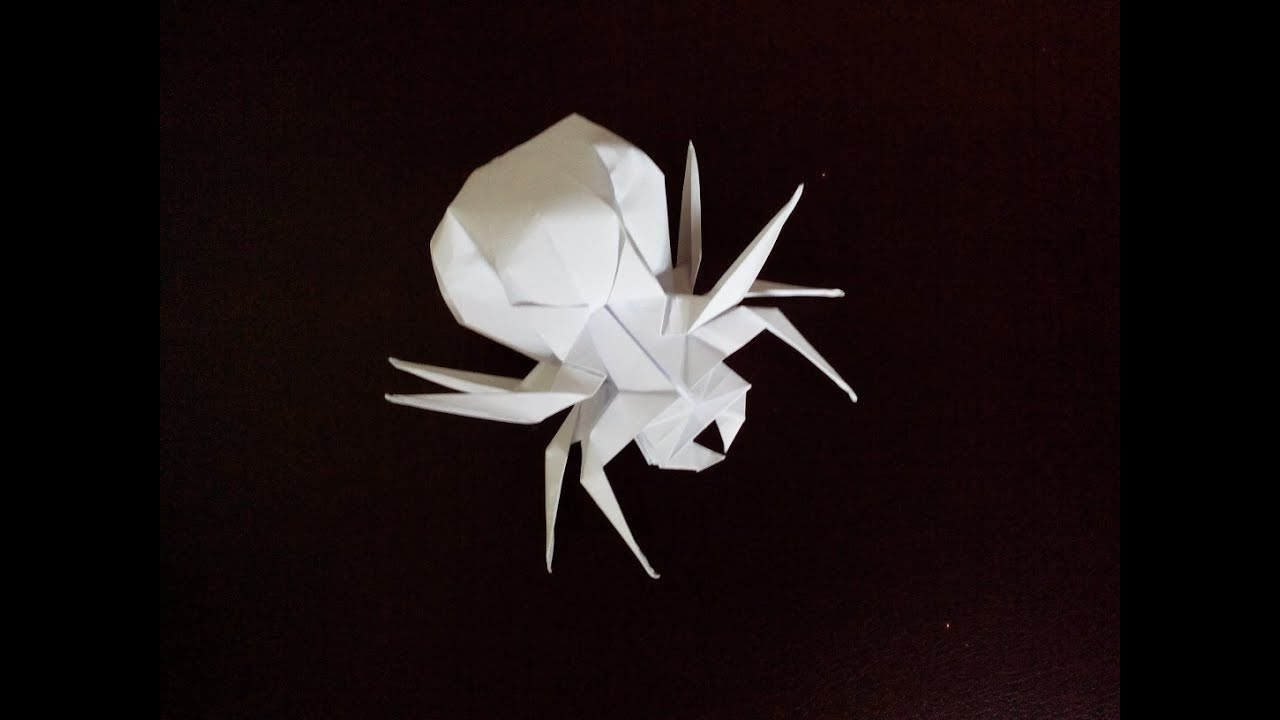 Ин�е�е�н�й па�к о�игами spider origami youtube