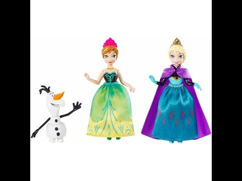 la reine des neiges elsa et anna poup es disney jouets pour enfants youtube. Black Bedroom Furniture Sets. Home Design Ideas