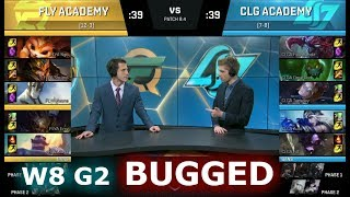 Video [BUGGED] FlyQuest Academy vs CLG Academy | Week 8 of S8 NA Academy League Spring 2018 | FLYA vs CLGA download MP3, 3GP, MP4, WEBM, AVI, FLV Juni 2018