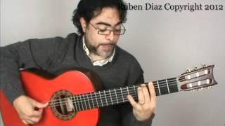 Seguirilla 11 Falseta 5 / Flamenco Guitar Lesson Ruben Diaz GFC Malaga