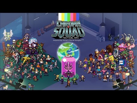 Chroma Squad #1: It's Like Disgaea But Without The Anime.