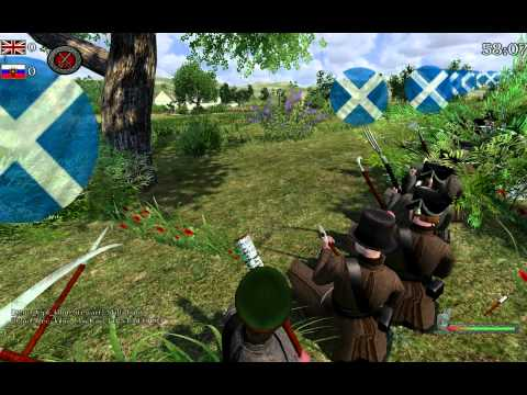 M&B: Napoleonic Wars - Russian Charge (92nd Gordon Highlanders)