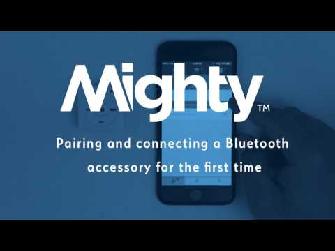 Playing Music With a Bluetooth Accessory