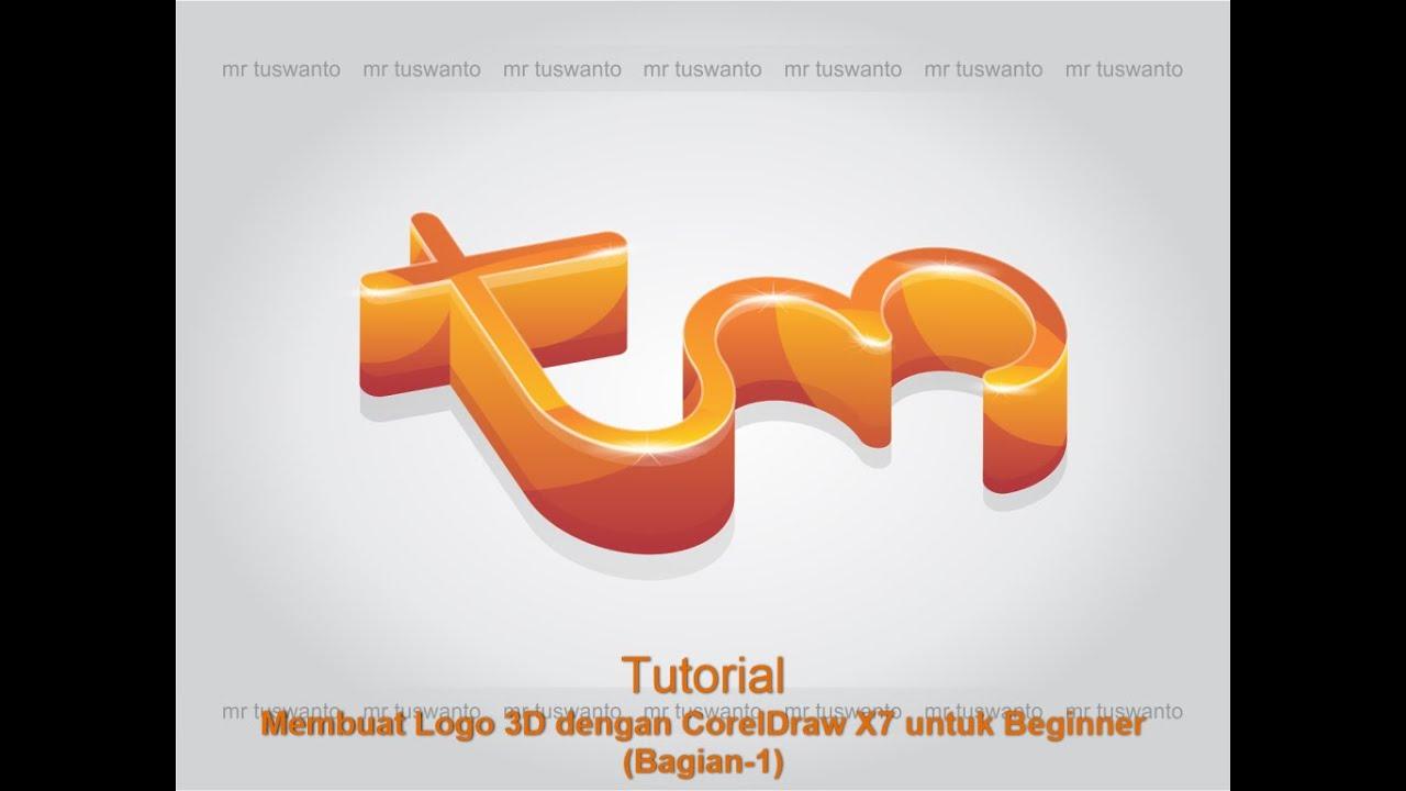 Tutorial Logo 3D dengan Corel Draw X7 untuk Beginner (Bagian-1) - YouTube