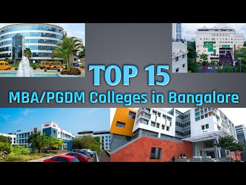 Top 15 MBA/PGDM Colleges in Bangalore | MBA Colleges in Bangalore | India | Graduates Engine |