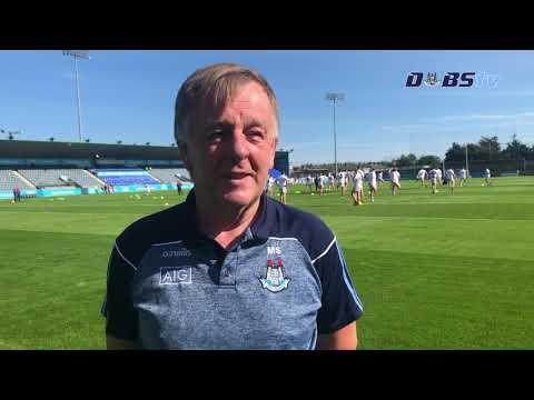 Dublin County Board Chairman Mick Seavers chats to DubsTV