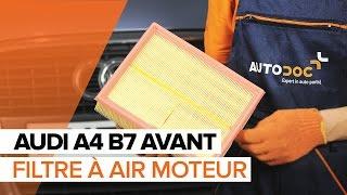 Remplacement Chapeau d'allumeur AUDI A4 : manuel d'atelier