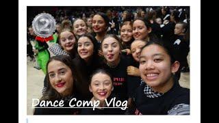 1st Dance competition Vlog