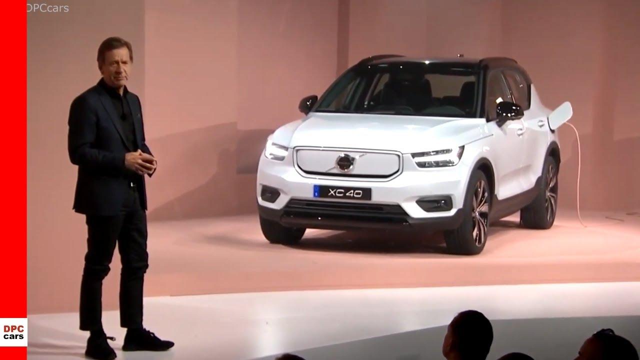 2020 Volvo Electric Xc40 Recharge Unveiling