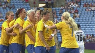 Sweden 4-1 South Africa - Women