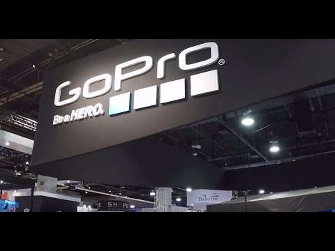 GoPro Booth Exhibit at NAB 2017 Cool Products!