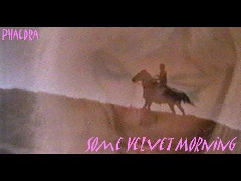 """Some Velvet Morning""- w/Lyrics. Nancy Sinatra duet with Lee Hazlewood"