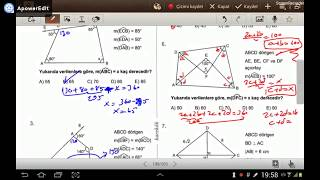 DRTGENLER Karekk YKS 2 Oturum Geometri Soru Bankas