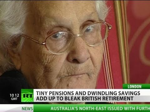 Old Age Perils: Retirement made bleak in UK by rising costs & poor pensions