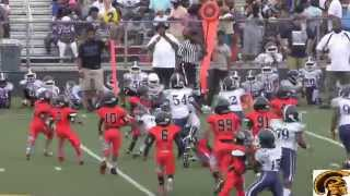 Northwest Cougars vs. Michigan Bulldogs (D-Team) Game Highlights (8-9-2015)
