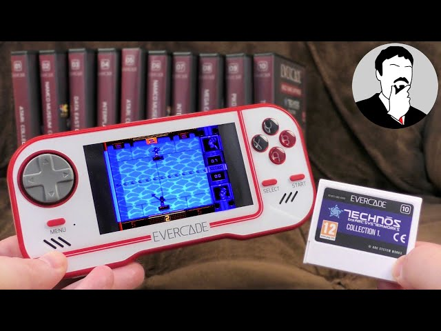 Evercade: A new retro cartridge-based console | Ashens
