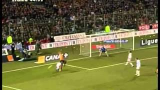 Résumé Lens - Olympique Lyonnais 2006 - 26ème journée de Ligue 1