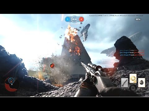 Star Wars Battlefront Drop Zone On Sullust Gameplay